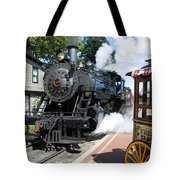 Living Steam Tote Bag
