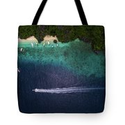 Living The Dream In El Nido Philippines Tote Bag