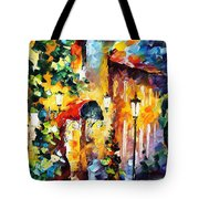 Living Town Tote Bag