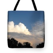 Living Under Protection Tote Bag