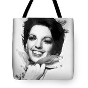 Liza Minnelli By John Springfield Tote Bag
