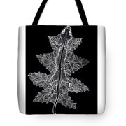 Lizard And Leaf Tote Bag