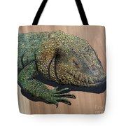 Lizard Art Work Tote Bag