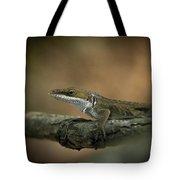 Lizard Deception Wildlife Art Tote Bag