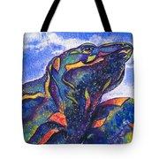 Lizard In The Desert 2 Tote Bag