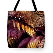 Lizard King Tote Bag by Kelley King