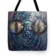 Lizard Man Tote Bag