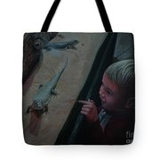 Lizards At The Zoo Tote Bag