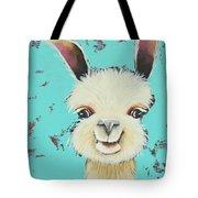 Llama Sue Tote Bag