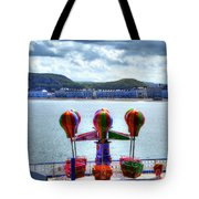 Llandudno Fun For The Kids On The Pier Tote Bag
