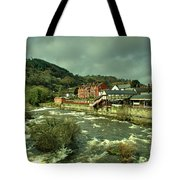 Llangollen Station  Tote Bag