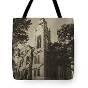 Llano County Courthouse - Vintage Tote Bag