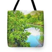 Llano River Scenic Tote Bag