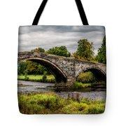 Llanrwst Bridge Panorama Tote Bag