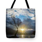Llyn Padarn Sunburst Tote Bag