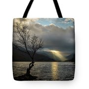 Llyn Padarn Sunrays Tote Bag