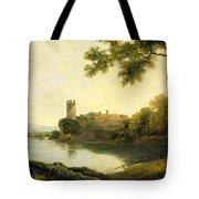 Llyn Peris And Dolbadarn Castle, North Wales Tote Bag