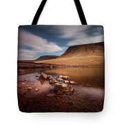 Llyn Y Fan Fach Black Mountain Tote Bag