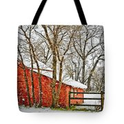 Loafing Shed Tote Bag