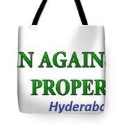 Loan Against Property In Hyderabad  Letzbank Tote Bag