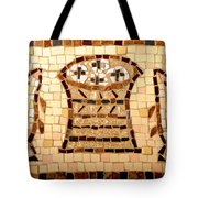 Loaves And Fishes Mosaic Tote Bag
