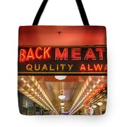 Loback Meat Co Neon Tote Bag