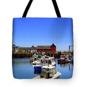 Lobster Boats Tote Bag