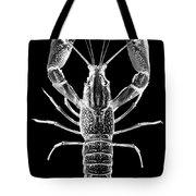 Crawfish In The Dark - Xray Tote Bag