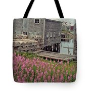 Lobster House Grand Manan Tote Bag