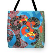 Lobster Party Tote Bag