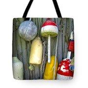Lobster Trap Buoys 2 Tote Bag