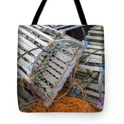 Lobster Traps Tote Bag