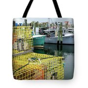 Lobster Traps In Galilee Tote Bag