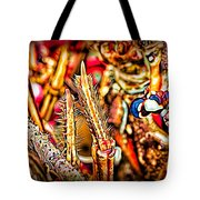 Lobster Up Close Tote Bag