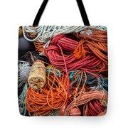Lobstering Lines Tote Bag