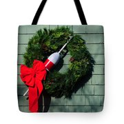 Lobsterman's Christmas Wreath Tote Bag