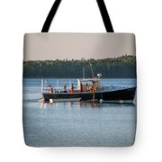 Lobstermen At Work  Tote Bag