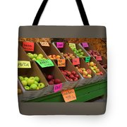 Local Apples For Sale Tote Bag