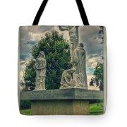 Local Cemetery Statue Tote Bag