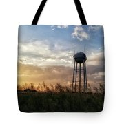 Local Water Tower  Tote Bag