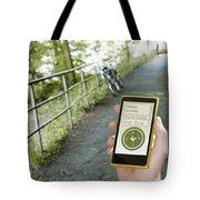 Location-based-apps-mobiloitte Tote Bag