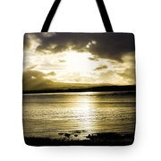 Loch Bracadale Sunset Tote Bag
