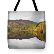 Loch Faskally Autumn Tote Bag