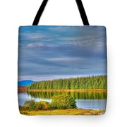 Loch Kinardochy Reflections Tote Bag
