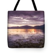 Loch Linnhe - The Last Rays Of The Sun. Tote Bag