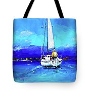 Loch Lomond Sail Tote Bag