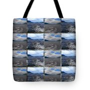 Loch Ness In Squares Tote Bag