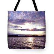 Loch Raven Sunrise Tote Bag