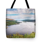 Loch Riddon And Isle Of Bute Tote Bag