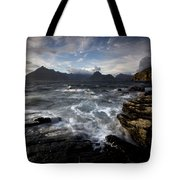 Loch Scavaig And The Cuillin Tote Bag
